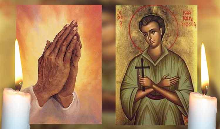 Rugăciunea către sfântul Ioan Rusul vă scapă de toate necazurile