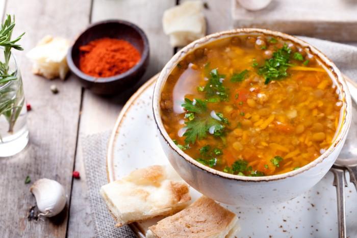 Vara aceasta, supa de linte e în mare vogă!