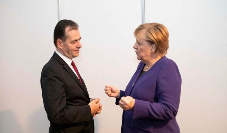 Angela Merkel l-a sunat pe Ludovic Orban. Afla ce au discutat cei doi șefi de guvern despre drepturile romanilor