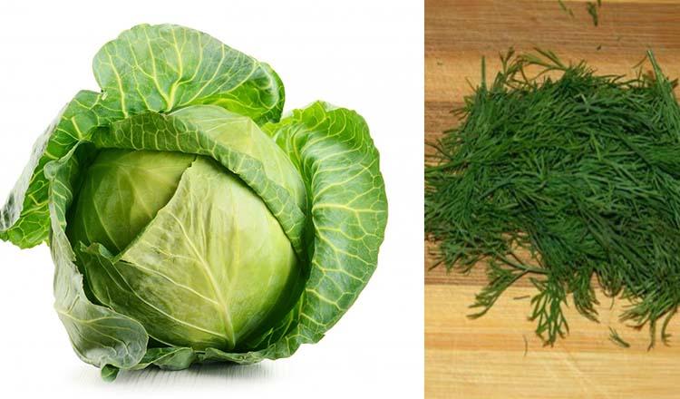 """Nutriționist celebru: """"Abuzați"""" de varza nouă și de mărar, rezultate garantate!"""
