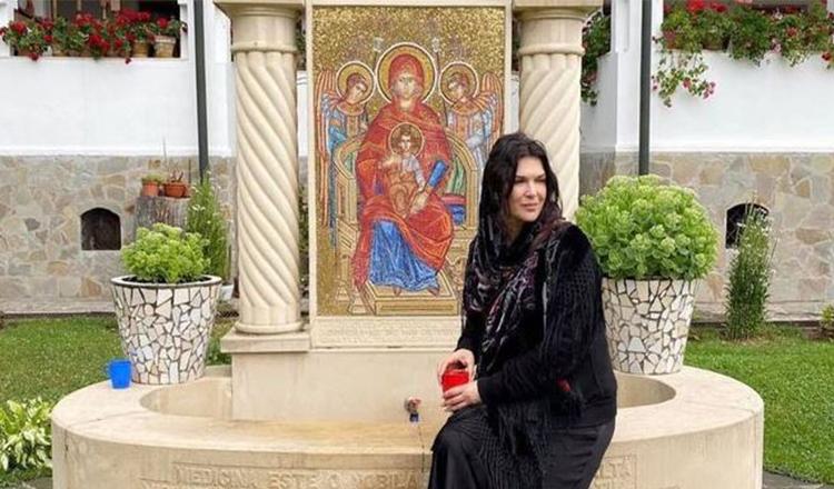 Monica Bârlădeanu s-a retras la mănăstire: O călătorie dedicată sufletului meu