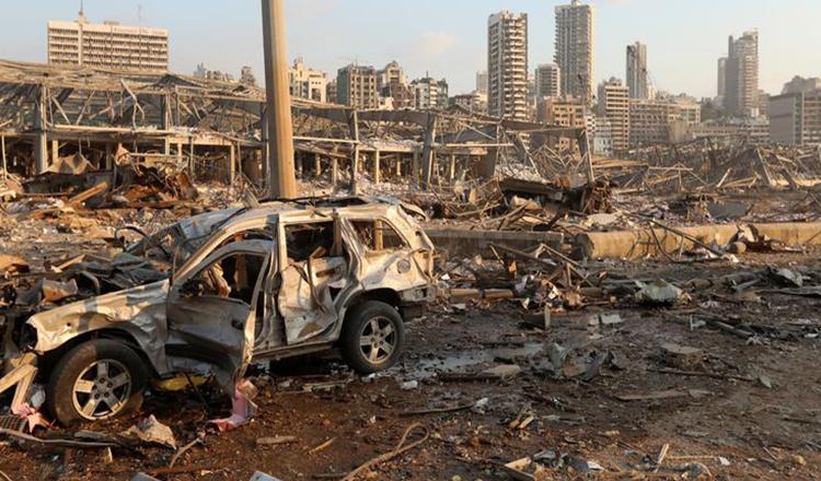 Româncă în Beirut, dezvăluiri cutremurătoare: Ca în filmele despre APOCALIPSĂ. Bomboana de pe colivă