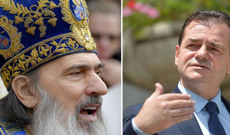 Incredibil: ÎPS Teodosie îi invită și pe Iohannis și pe Orban la SLUJBĂ, de Sfântul Andrei