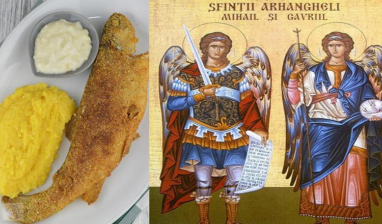 De ce trebuie să mănânci pește de ziua Sfinților Mihail și Gavriil!