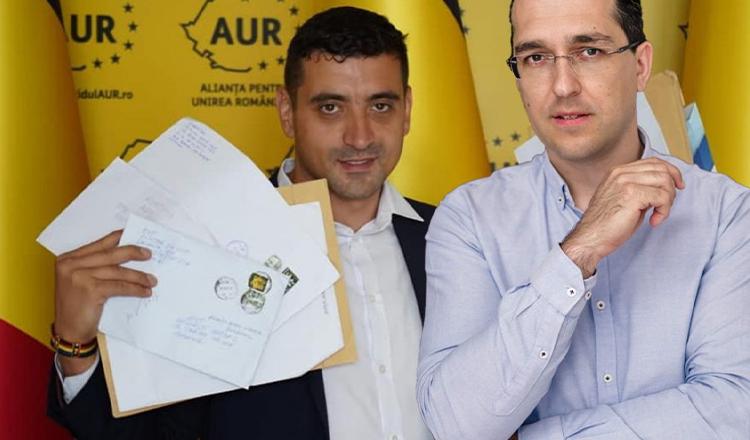 George Simion l-a prins pe Vlad Voiculescu cu minciuna. Acuzații grave și 4 milioane de euro se află în joc.
