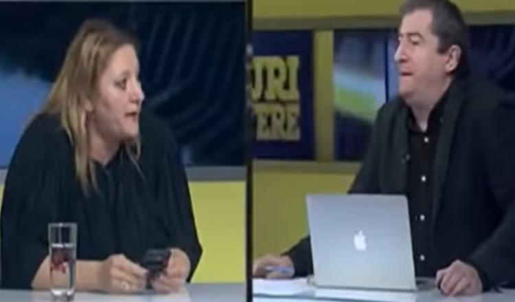 """Şoşoacă, scandal cu Cartianu în direct. Senatoarea a plecat din emisiune: """"Caricatură de jurnalist"""" / """"Ruşinea României"""""""