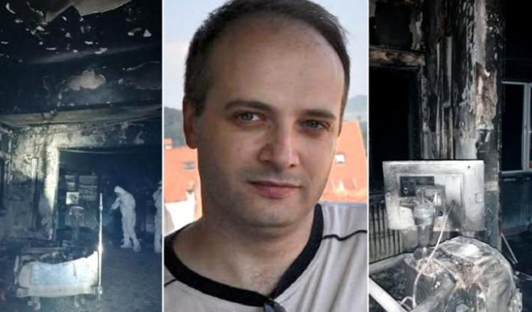 Primele imagini cu Cătălin Denciu, medicul erou din incendiul ce a avut loc la spitalul din Piatra Neamt